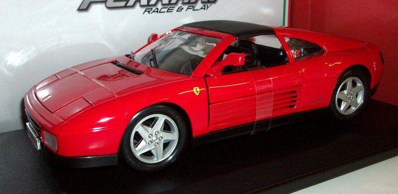 Burago 1 18 scale Diecast 18-16006 Ferrari 348ts red