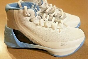 blue and white stephen curry shoes