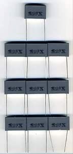 10 CONDENSATEURS SECTEUR 1 µF TYPE X2 - AUTO-CICATRISANTS rcDt7Awn-07164819-496050876