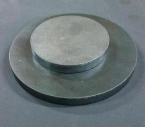 Stahlronde Platte Stahlscheibe Ronde Ø 25-300mm Stärke 3-15mm Stahl roh S235