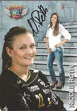 Autogramm Nicole Roth Frauen Handball HCL Leipzig  auch SV Union Halle Torfrau