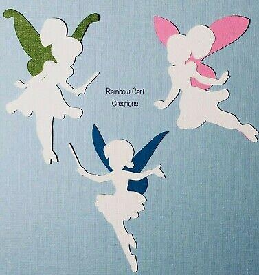 Die Cuts Fairies 1 Paperpiecing Premade Scrapbooking Paper Piecing CBL