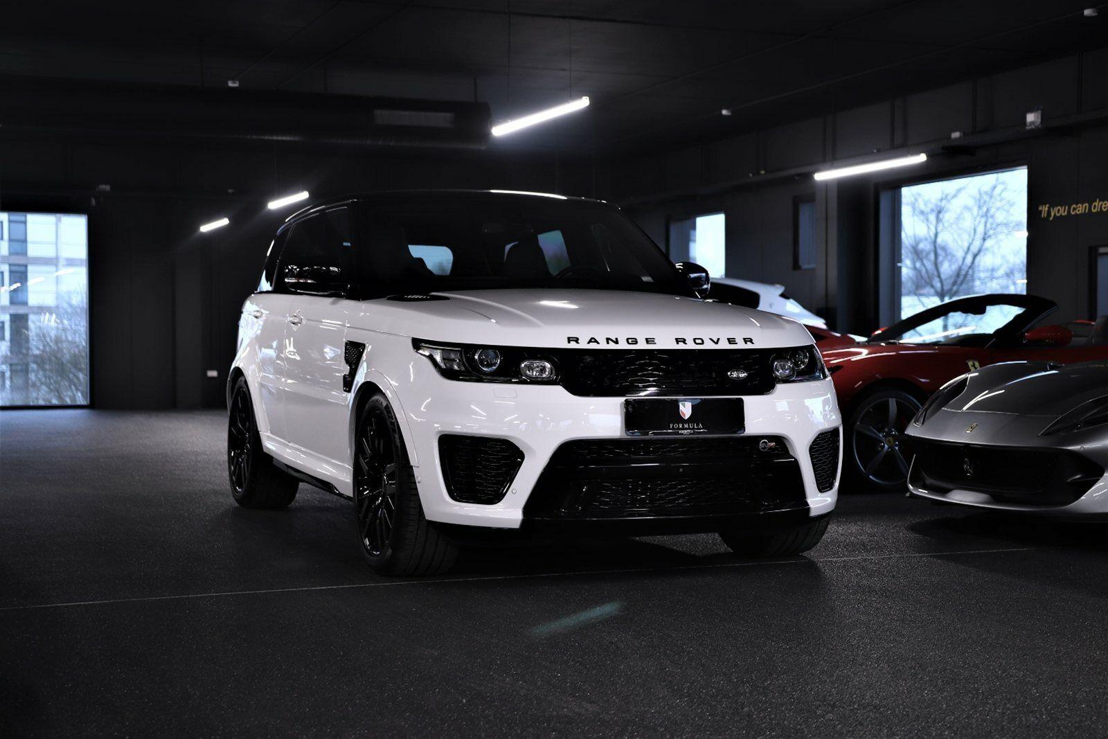 Land Rover Range Rover Sport 5,0 SCV8 SVR aut. 5d - 13.000 kr.