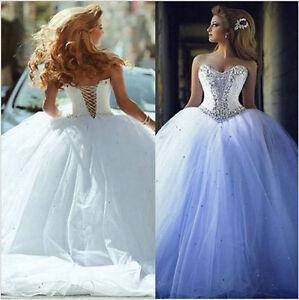 White-Ivory-Wedding-Dress-Bridal-Gown-Custom-UK-Size-6-8-10-12-14-16-18-20-22