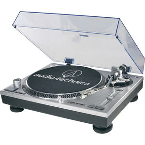 AUDIO TECHNICA AT-LP120-USB DIRECT-DRIVE PROFESSIONAL TURNTABLE WITH USB 2 Yr Wr