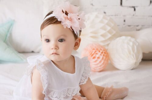 Toddler Girl Kids Baby Beautiful Angel Flower Headband Kids Hair Accessories