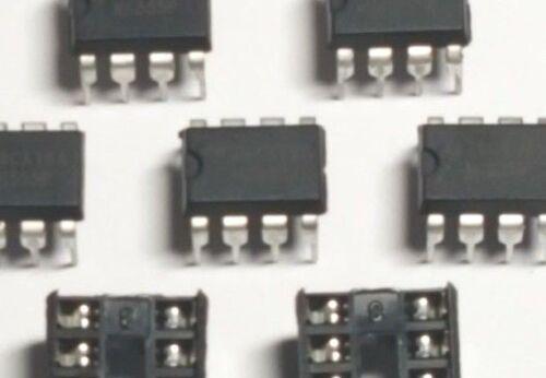 NE555 Timer Chips 5 Pack- IC PCB NE555P Free UK P/&P IC Holders