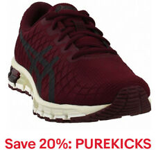 ASICS Gel-Quantum 180 4  Casual Running  Shoes - Burgundy - Mens