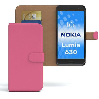 Tasche für Nokia / Microsoft Lumia 630 Dual Sim Case Wallet Schutz Hülle Cover P