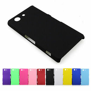 Slim-Matte-Frost-Rigid-Hard-Plastic-Back-Case-Cover-For-Sony-Xperia-Z5-Compact