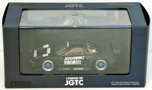 Ebbro 44225 Raybrig Nsx Jgtc 1997 Test Car 1//43 Scale Black