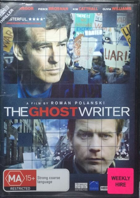 The Ghost Writer (DVD, 2011)