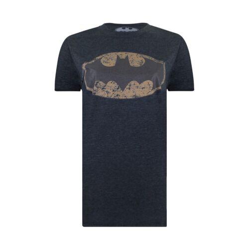 Ladies DC Comics Dark Heather Oversized T-shirt Batman Metallic
