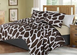 2-3-Piece-Bed-Cover-Animal-Print-Quilt-Bedspread-Coverlet-Pillowcase-Set