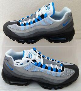 Details about New Nike Air Max 95 OG Crystal Blue Mens US Size 8 UK 7 EUR 41 AT8696 100