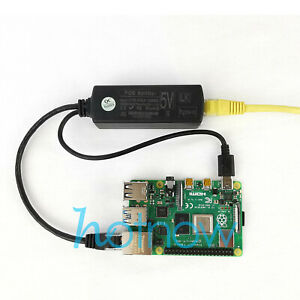 Gigabit Raspberry Pi 4 4B Active PoE Splitter USB TYPE C 5V Power Over Ethernet