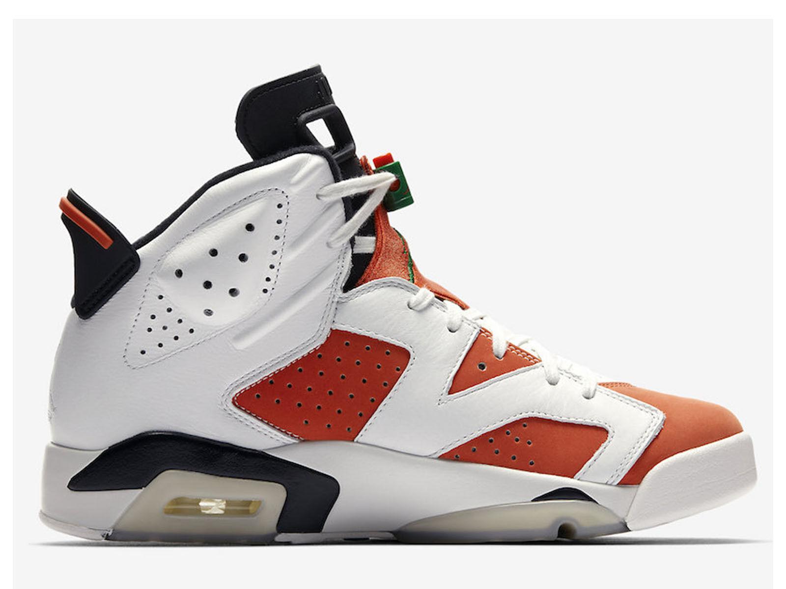 Men's Brand New Air Jordan 6 Retro  GATORADE  Fashion Sneakers