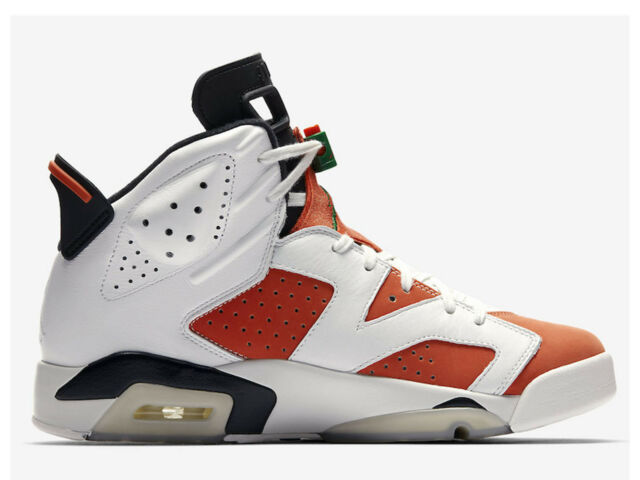 newest 1f486 5462a Nike Mens Air Jordan 6 VI Retro Gatorade Orange Like Mike Size 10