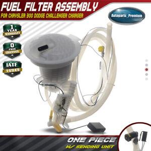 details about fuel pump filter w sending unit for chrysler 300 dodge challenger charger 05 14 2010 dodge charger fuel filter location 2011 dodge charger fuel filter #8
