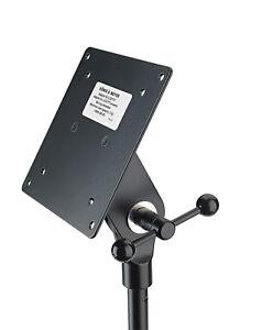 K-amp-M-19685-Adapter-fuer-Bildschirm-Monitor-schwarz-zur-Befestigung-von-LCD-TFT-039-s