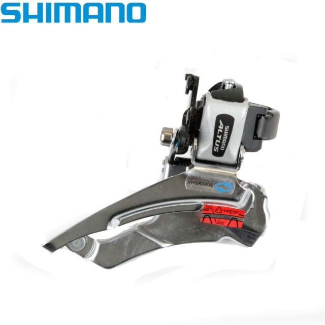 Shimano Altus FD-M313 Front Derailleur 7/8sp Dual Pull Black Clamp 34.9mm