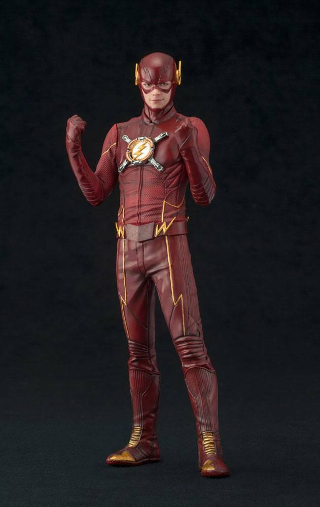 The Flash statue ARTFX+ The Flash EU Exclusive Kotobukiya