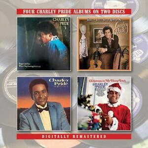 Charley-Pride-Burgers-amp-Fries-Little-Bit-Of-Hank-Best-There-Is-2CD-NEW