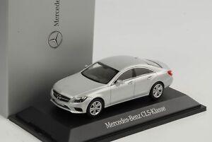 Mercedes-Benz-Classe-CLS-Coupe-C128-Argent-Mat-2018-1-43-Norev