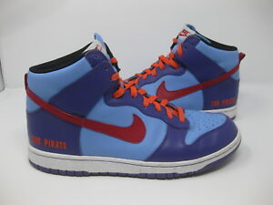 newest 4e6ab 4a31c Image is loading Nike-Dunk-High-316142-99110-5-Blue-Red-