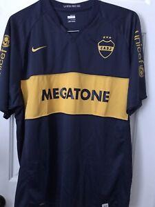 buy online efcc9 cc010 Details about Boca Juniors Jersey Argentina Maradona Riquelme Messi Brasil  Mexico CABJ Palermo