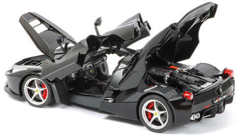 1//18 Hot Wheels La Ferrari F70 LaFerrari Diecast Model Car Elite BCT80 Black
