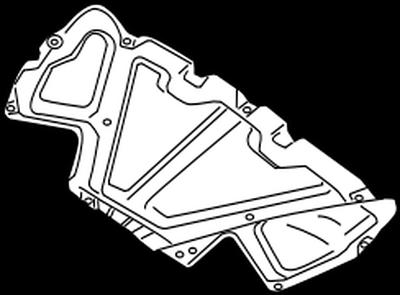 65840-1KA0A Nissan Insulator-hood 658401KA0A New Genuine OEM Part