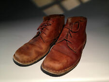 Vintage Timberland Ladies Chuka Boots Leather w/ Crepe Soles #98141 1031 8 1/2 M