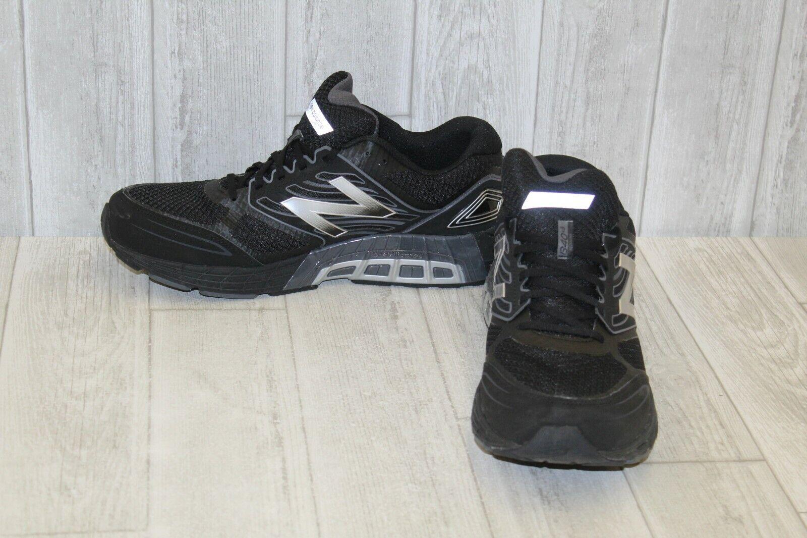 Zapatillas, New Balance 1340v3 para hombres E, Negro Plata
