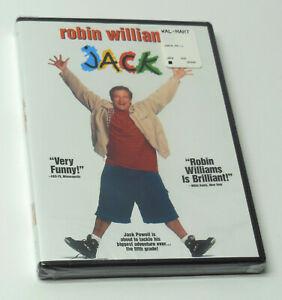Jack 1996 Dvd New Sealed Fast Robin Williams Jennifer Lopez Francis Ford Coppola 786936209730 Ebay