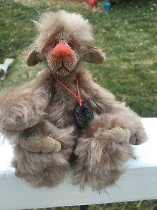 Artist-Mohair-Teddy-Bears-CAPUCINO-Award-Winning-MONIKA-TIMPE-Vintage-OOAK-7-5-034