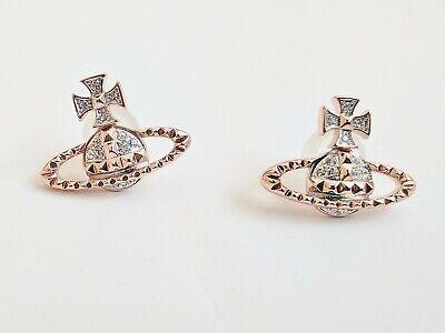 Vivienne Westwood Mayfair Bas Relief Earrings Pink Gold Ebay