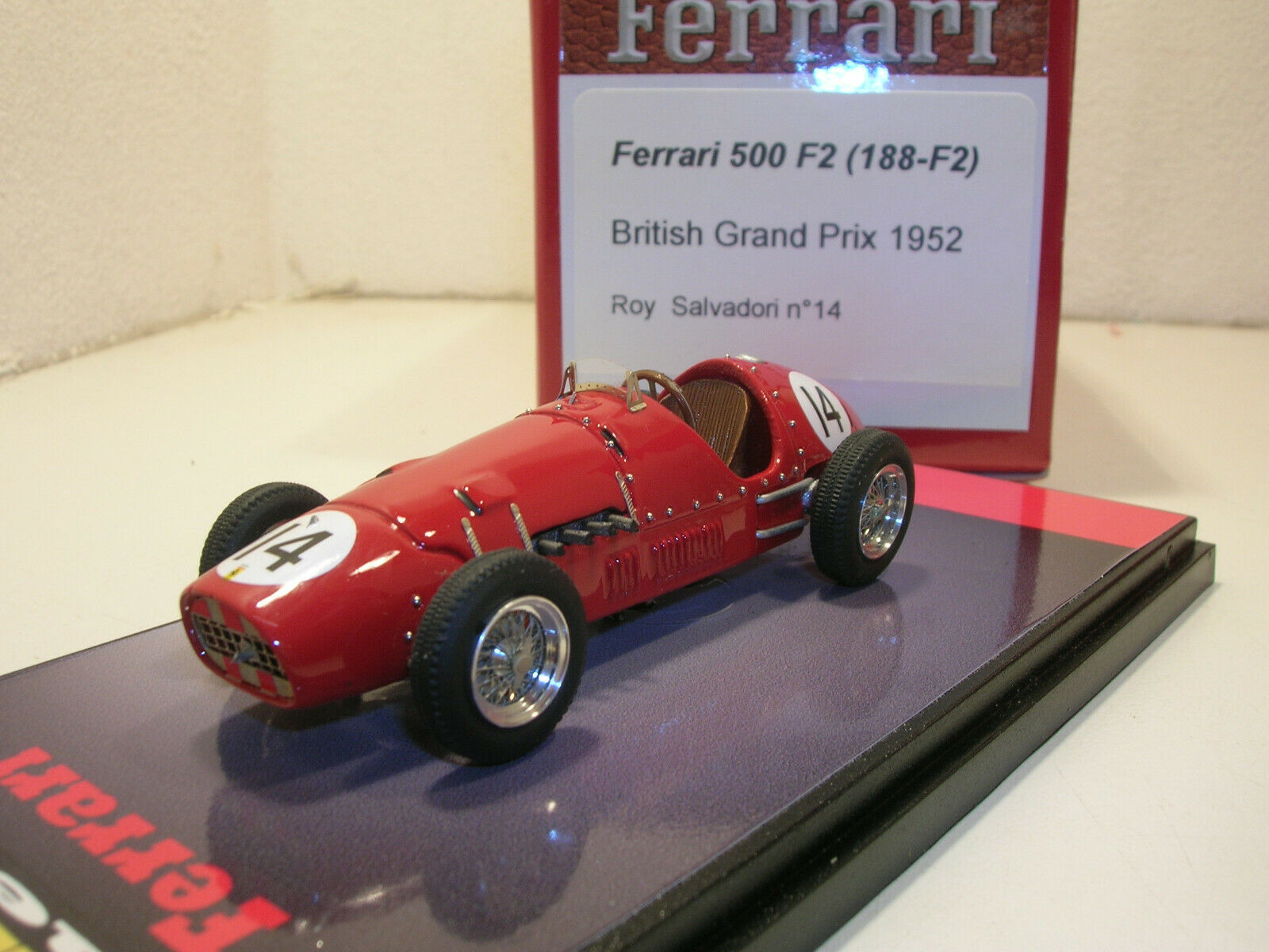 solo para ti Ferrari 500 F2  0188 British Gp 1952 1952 1952 n AMR BBR  encuentra tu favorito aquí