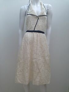 Fleur-Wood-sz-3-12-14-Ivory-Silk-Lace-Halter-Dress