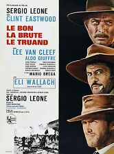 IL BUONO IL BRUTTO IL CATTIVO GOOD BAD AND THE UGLY MANIFESTO LEONE EASTWOOD