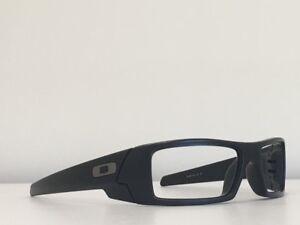 c49a573218 72 Oakley GASCAN 26-245 Black Rectangle Frame Sunglasses No Lenses ...