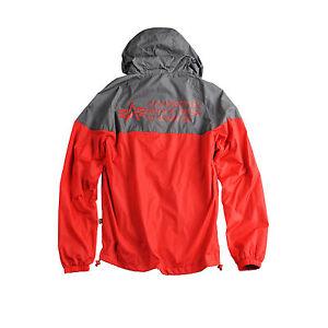 Ii Taglia Giacca Alpha a Industries Helix Xl grigioblu vento Rosso 141143 qzzAxE