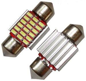 2x-ampoule-veilleuses-C5W-12V-18LED-SMD-blanc-effet-xenon-31mm-eclairage-plaque