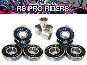 X8-Abec-11-608-Rs-Patineta-Stunt-Scooter-Inline-Quad-Roller-Skate-Rodamientos-9