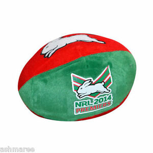 NRL-South-Sydney-Rabbitohs-2014-Premiers-Plush-Soft-Football