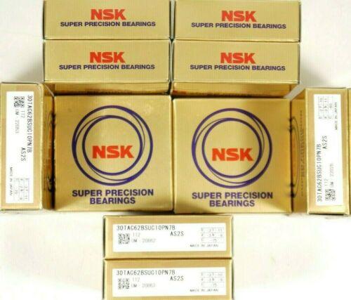 NSK 30TAC62BSUC10PN7B SUPER PRECISION BALLSCREW BEARING NEW IN BOX USA SELLER