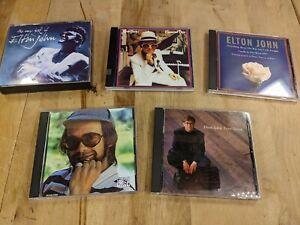 (5) Elton John CD Album lot | Greatest Hits Love Songs The Very Best OF Elton