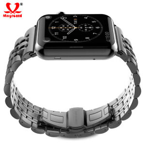 Luxury Stainless Steel Buckle Metal Strap For Apple Watch Series 5 4 3 2 1 Band Ebay