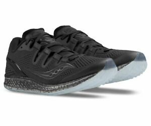 Saucony-Freedom-ISO-Women-039-s-Running-Shoes-Black-Size-8-5-M