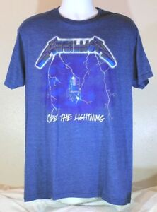 f6172d818b63 Image is loading Metallica-Ride-The-Lightning-Bravado-Graphic-T-shirt-